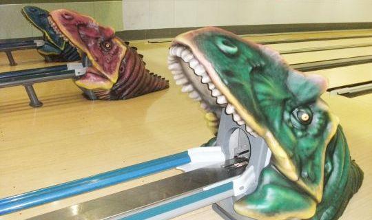 迫力満点の恐竜ワールド!?